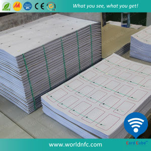 Layout 5 X 5 Ultralight EV1 RFID Inlay Sheets pictures & photos