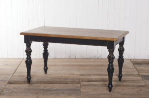 Match Well of Chinese and Western Dining Table Antique Furniture pictures & photos