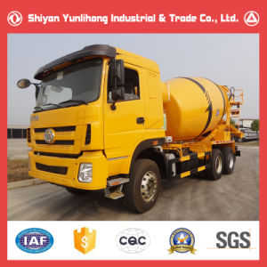6X4 10cbm Concrete Transport Truck pictures & photos