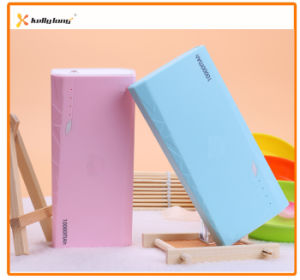 10000mAh Portable Battery Charger External Power Bank with Three Output pictures & photos
