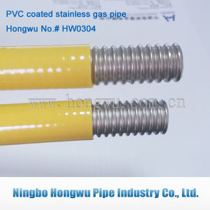 304 Material Stainless Steel Corrugated Gas Pipe pictures & photos