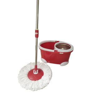 Hand Press 360 Microfiber Spin Mop Bucket (SM02S)