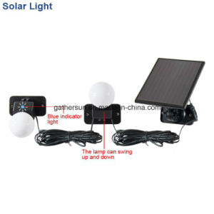 Hight Performance Solar Indoor Light with Laminated Panel 5V 120mA 0.6W pictures & photos