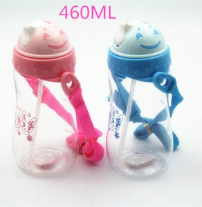 460ml 4 to 12 Years Old Children Sipper Water Bottle