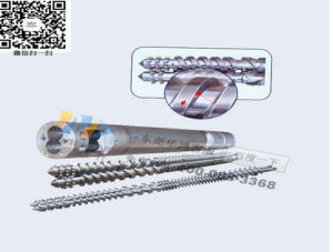 65/132 Granulating Machine Conical Twin Screw Barrel