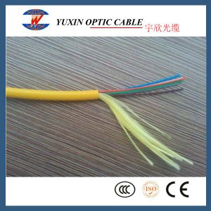 4 and 6 Core GJFJV Indoor Fiber Optic Cable From China Factory