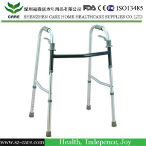 Walking Aids Medical Supplies Foldable Walking Sticks for Disabled Stainless Steel Walker pictures & photos