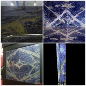 Natural Blue Sodalite Laminate Countertop for Bathroom Countertops pictures & photos