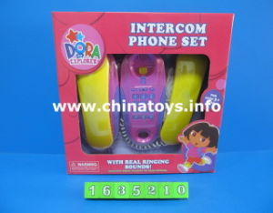 Hot Selling Toy Cartoon Dora Baby Music Phone Toy (1635210) pictures & photos