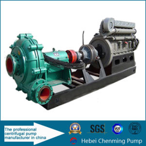 Centrifugal Type Diesel Engine Iron Mining Thick Slurry Pump pictures & photos