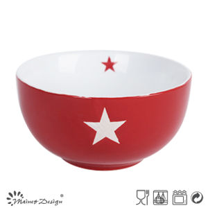Safety of Bulk Packing or Individual Stars Decorate Ceramic Bowl pictures & photos