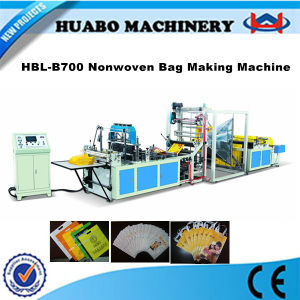 Laminated Non Woven Bag Making Machine pictures & photos