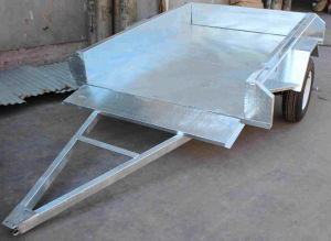 Ly-601 6*4 Galvanised Utility Car Trailers