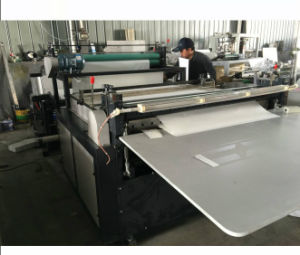 Automatic White Cardboard Paper Roll to Sheet Cutting Machine pictures & photos