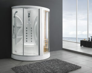 Computer Control Panel Steam Shower Combine with Sauna Room (M-8258) pictures & photos