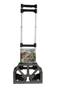 New Design Fashion Aluminum Shopping Trolley with Handle Wheels pictures & photos