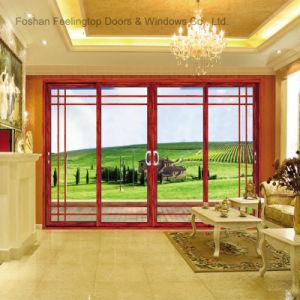 Sound Proof Design Aluminium Profile Glass Door (FT-D80) pictures & photos