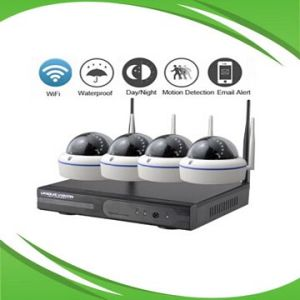 Dome WiFi Wireless NVR Kits, 960p CCTV Kits pictures & photos