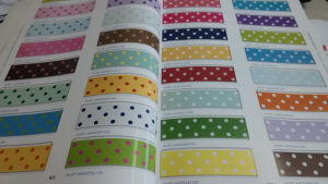 Printed Colorful Grosgrain Ribbon Wholesale (CGR-2013) pictures & photos