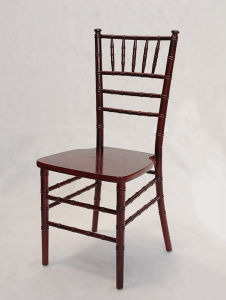 Quality Wood and Resin Chiavari Chair