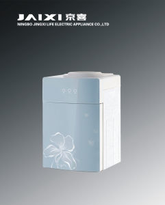 Hot and Cold Table Glass Water Dispenser with Electric Cooling
