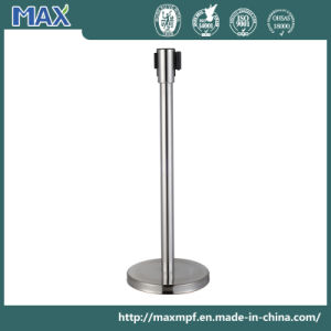 Logo Printing Retractable Belt Barrier Bollard for End User pictures & photos