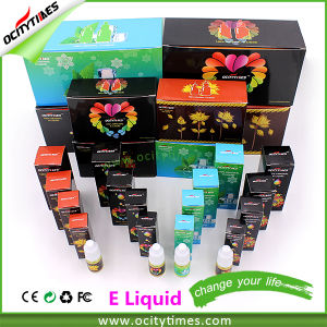 Ocitytimes 10ml/20ml/30ml/50ml Electronic Cigarette E Liquid with Custom Label pictures & photos
