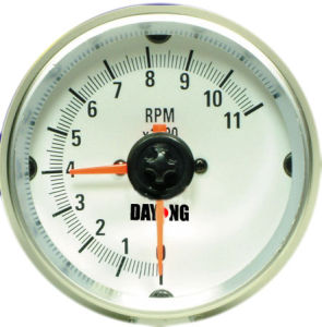 "3 3/4"" (95mm) Tachometer for Single Color LED Tachometer (8010SWC) pictures & photos"