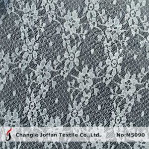 Cheap Flower Mesh Lace Fabric (M5090) pictures & photos