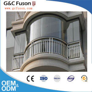 Double Glass Arch and Half Round Aluminum Sliding Window pictures & photos