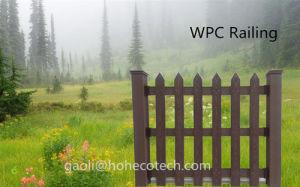 Wood-Like Park Farmhouse Fencing WPC Material Vinyl Composite Fences pictures & photos