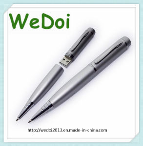 Customized Pen USB Flash Memory with 1 Year Warranty (WY-P08) pictures & photos