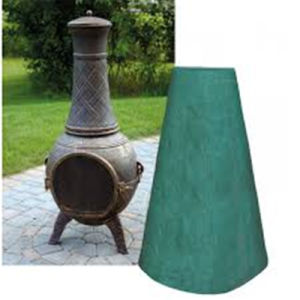PVC Backed Polyester Large Chimenea Cover pictures & photos