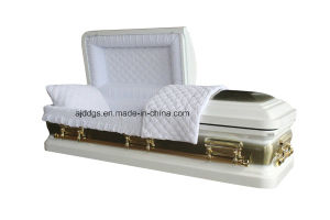 American Style Metal Casket (18038238) pictures & photos