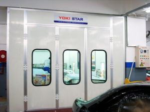 Used Car Spray Booth Mobile Paint Booth for Sale pictures & photos