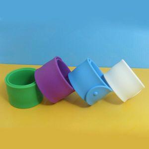 Colorful Creative Silicone Slap Bracelet for Children pictures & photos