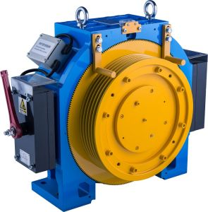 Gearless Traction Machine for Elevators (MINI 5 Series) pictures & photos