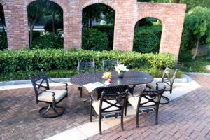 Best Sellers Outdoor Dining Set Cast Aluminum Furniture pictures & photos