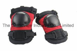 Hard PVC Cap 600D Oxford Labor Knee Pad (QH3028)
