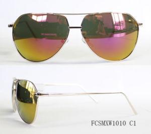 New Arrival Pilot Coat Metal Sunglasses pictures & photos
