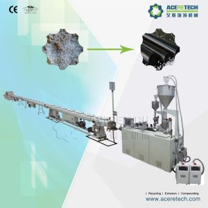 Plastic HDPE Tube Extruder Machine pictures & photos