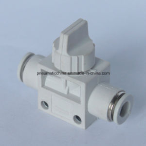 Air Fitting (hand valve) From China Pneumission, Push in Fitting pictures & photos