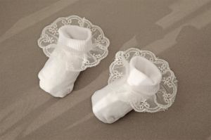 Baby Lace Trim Cotton Socks Baby Socks pictures & photos