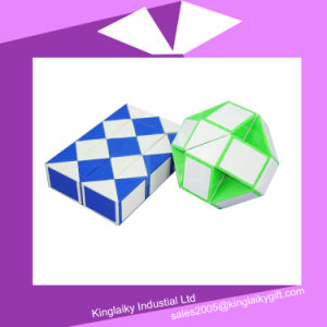 Plastic Magic Cube with Customized Logo Mc016-008 pictures & photos