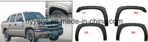 High Quality ABS Fender Flare for Dodge RAM 1500 / 2500 / 3500 & Power Wagon Short Bed 06-08