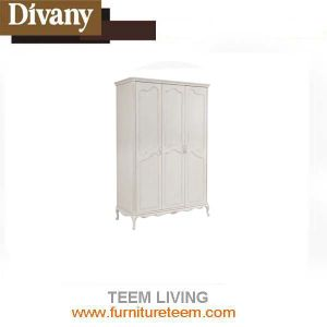 Antique White French Style and Country Style Bedroom Wardrobe Design pictures & photos