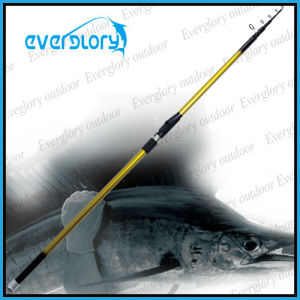 Good Performance Mixed Carbon Tele Surf Rod Fishing Rod pictures & photos
