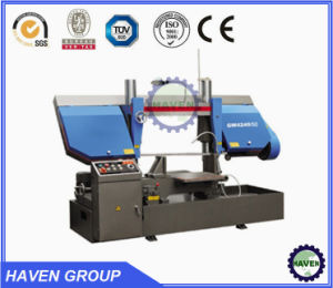 Double Column Type Semi-Automatic Band Saw pictures & photos