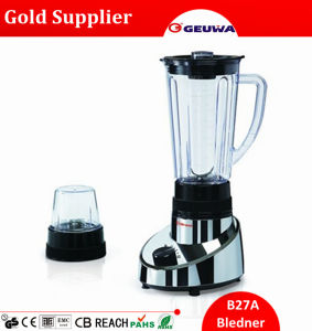 Geuwa Global Hot Sale Healthy Baby Food Blender with Dry Mill 2 in 1 for Sale with 1.25L Jar 2 in 1 B27A pictures & photos