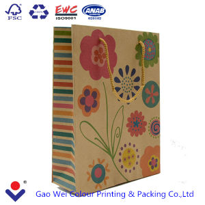 2016 Free Design Cheap Recyclable Custom Printed Kraft Paper Bag pictures & photos